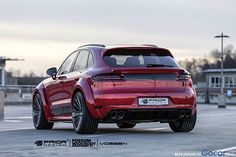 New design with Prior for Porsche Macan
