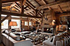 chalet fireplace - Hledat Googlem