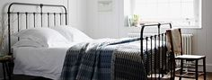 Cast Iron Bed Frames & Bedsteads – The Cornish Bed Company UK Cast Iron Bed Frame, Cast Iron Beds, Antique Iron Beds, Bed Company, It Cast, The Originals, Bedroom, Furniture, Design