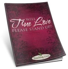 Will True Love Please Stand Up? by Stephen Davey (Booklet)  In this booklet Stephen leads us past our assumptions and experiences to discover what real, genuine biblical love looksl ike. This insightful study will help you identify and practcie that single indispensable characteristic of authentic Christianity -- Love.