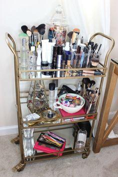 makeup storage hacks