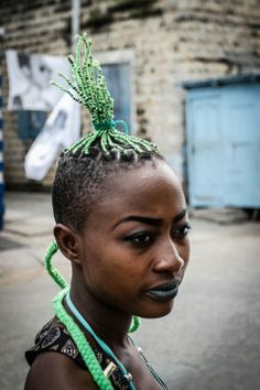 Faces from Chale Wote 2015:A Celebration of Self-Expression in the Futuristic Present.