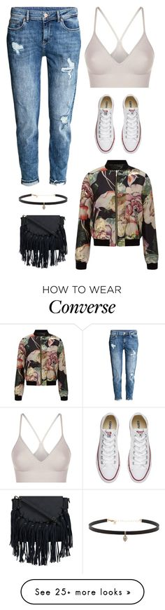 """""""Untitled #3071"""" by twerkinonmaz on Polyvore featuring SPANX, H&M, Converse, Miss Selfridge and Carbon & Hyde"""