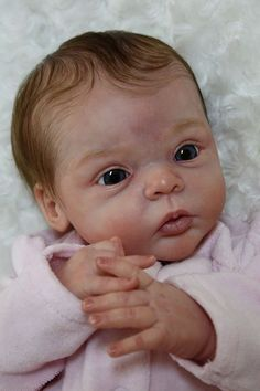 LIVIA Reborn Doll Kit By Gudrun Legler   I absolutely LOVE this!!