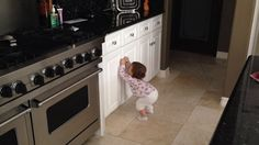 Baby Safe Homes - Baby Safety Cabinet Latches