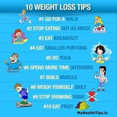 10 Easy Weight loss tips