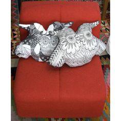kit coussin chouette en vente sur  http://www.spoonflower.com/fabric/1021823