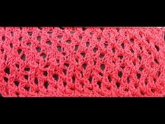 Lacy stocking stitch video tutorial EN subs