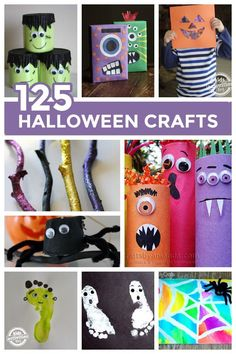 If you're looking for Halloween crafts we have a HUGE collection here - 125 ideas and growing.
