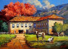 nas artes plásticas brasileiras, trago um mestre na pintura espatulada de volta ao blog... >>>   betomelodia - música e arte brasileira: Ricardo Ardente, o Amor à Arte Impressionista