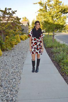 Cheetah Dress | Victoria Elise's Blog