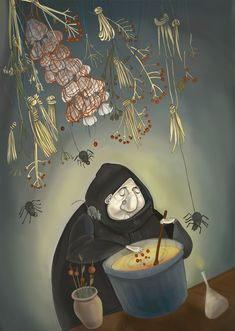 Stir up a potion,  it will most likely stir up a story. Irina Ert