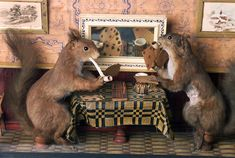 Walter Potter's Museum of Curiosities: bizarre Victorian collection of stuffed animals