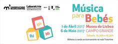 1 Abril, 16:30 - Música para Bebés prossegue no Museu de Lisboa – Núcleo do Palácio Pimenta, no Campo Grande.