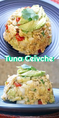 Yummy healthy Tuna Ceviche Recipe