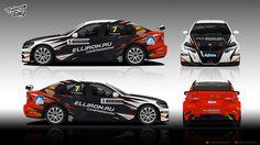 BMW E90 Roman Golikov for russian racing championship