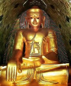 Awakening from the Dream of Existence. Proto Buddhism - The Original Teachings of the Buddha By Venerable Dr. Asian Sculptures, Shwedagon Pagoda, Buddha Garden, Buddha Painting, Japanese Landscape, Buy Birds, Awakening, Statue, Image