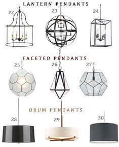 Share Tweet Pin Mail Following up on yesterday's post Montage: 28 Hallways With Pendants, I've rounded up 48 pendant lights that are perfect to ...