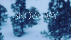 Tomorrow Monday December 12 2016 will be a snow day. School will be closed. See you back on Tuesday.