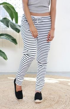 Catch Phrase Pants | Beginning Boutique