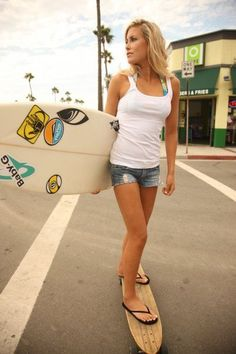 #Surf #girl... Erica Hosseini...