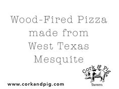 Everything's better in Texas! www.corkandpig.com