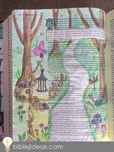 Bible Journaling Ideas: A Look At My Bible Doodles This might be one of the toughest posts I've ever written. Scripture Art, Bible Art, Bible Quotes, Bible Journaling For Beginners, Art Journaling, Vellum Crafts, Bible Images, Bible Illustrations, Christian Images