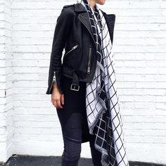 Street style. All Saints Balfern jacket. #streetstyle - OVRSLO