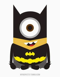 Toddler Kids Minions Batman Little Boy's Girl's T Shirts RoyalBlue Age Toddler - high heels free pattern Minion Avengers, Minion Superhero, Superhero Logos, Little Boy And Girl, Boy Or Girl, Cute Cartoon Wallpapers, Painting For Kids, Cushion Covers, Cute Pictures