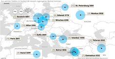Wo die meisten zugezogenen Berliner aus dem Ausland geboren sind. Erschienen in der Berliner Morgenpost
