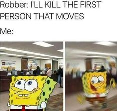 Robber: I'll Kill The First Person That Moves