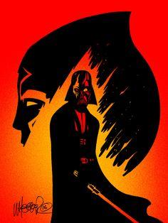 My homage to Star Wars Rebels S2 Finale by jeremywheeler-portfolio