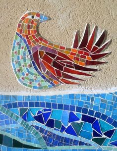 Springfield project mosaic by Amanda Anderson and Johanna Potter