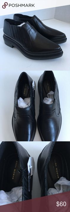 New Zara leather platform Creepers size 8/39 Brand new genuine leather platforms with a pointed toe. Size 8 which is a 39 at Zara. Zara Shoes Platforms