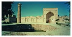 Khwaja Kalon Mosque in Bukhara, Uzbekistan, as photographed by Sebastian Schutyser http://archnet.org/authorities/3203