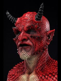 Demon belial silicone mask