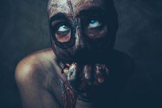 "darkbeautymag: ""Necro"" — Photographer/Stylist/Makeup: Mohawk PhotographyModel: Diana Lolocaust - Devilish Diana"