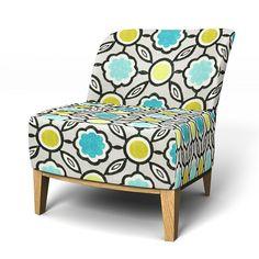 Slipcover from BEMZ.COM for IKEA Stockholm Easy chair Sagrada Aqua