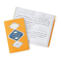 EXPERIENCE PASSPORT | college activity book | UncommonGoods