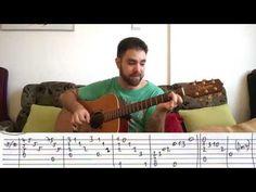 Fingerstyle Tutorial: Careless Whisper - Guitar Lesson w/ TAB - YouTube