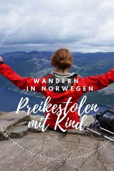 Wanderung Preikestolen in Norwegen mit Zelt und Kind. #wanderlust #wandern #Reiseblogger #reiseblog #familie