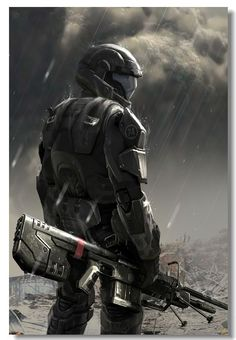 Soldier concept Halo 4 - High quality htc one wallpapers and abstract backgrounds designed by the best and creative artists in the world. Halo 3 Odst, Halo 5, Halo Reach, Halo Wallpaper, Mobile Wallpaper, Xbox 360, Playstation, Halo Armor, Halo Master Chief