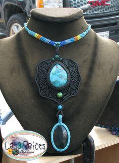 Collar Macrame, Macrame Necklace, Macrame Jewelry, Crochet Necklace, Shopping, Menu, Necklaces, Jewellery, Facebook