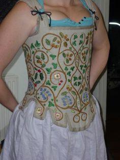 Tudor Bodies (stays/corset) Tudor Clothing. Re-enactment clothing, Women | eBay