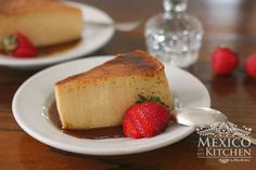 This is easy to make Mexican Flan recipe it is made using whole eggs condensed and evaporated milk Covered with a light sugar syrup It can also be made using cream cheese or coconut milk Mexican Flan, Mexican Dishes, Mexican Food Recipes, Sweet Recipes, Mexican Desserts, Filipino Desserts, Easy Desserts, Delicious Desserts, Dessert Recipes