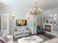 Интерьер квартиры в стиле прованс в п. Сертолово