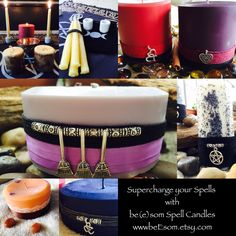 Supercharge your Spells with be(e)som Spell Candles Big Candles, Candle Spells, Beeswax Candles, Spelling, Etsy Seller, Pure Products, Friends, Birthday, Handmade