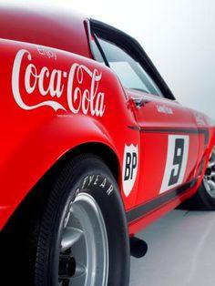 Allan Moffat's 1969 Trans-Am Mustang Ford Mustang 1969, Mustang Cobra, Ford Shelby, Mustang Fastback, Car Ford, Ford Gt, Mustang Boss, Ford Mustangs, Coca Cola