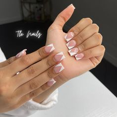 Acrylic Nails Coffin Pink, Short Square Acrylic Nails, Square Nails, Cute Acrylic Nail Designs, Pointed Nails, Fire Nails, Luxury Nails, Dream Nails, Nails Inspiration