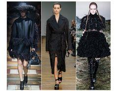 20 trends for Fall/Winter 2014-2015 Night birds Lanvin Céline Alexander McQueen